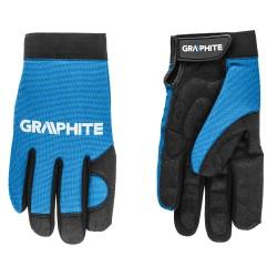 Rękawice robocze skóra syntetyczna Graphite