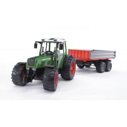 Zabawka traktor Fendt 209S +przyczepa