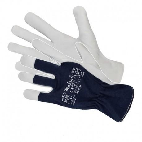 Rękawice ochronne wzmocnione skórą 9 Rtoper