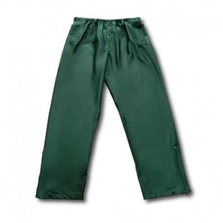 Spodnie przeciwdeszczowe zielone