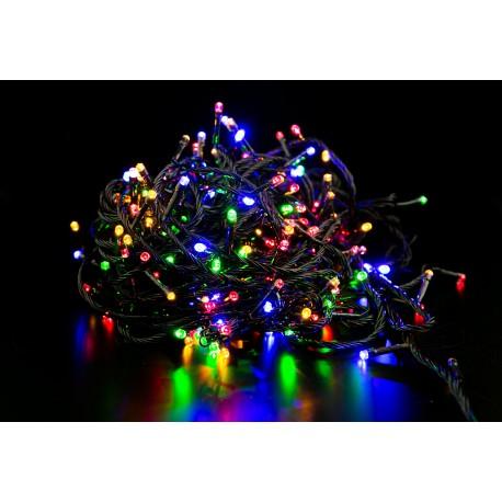 Lampki choinkowe LED 100 żarówek multikolor