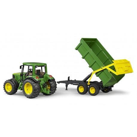 Zabawka tarktor John Deere 6920 z przyczepą