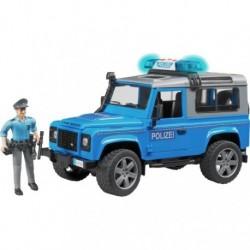 Zabawka Land Rover Defender policja