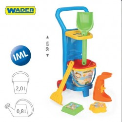 Zabawka wózek plażowy /Wader/