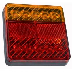 Lampa tylna zespolona LED 12V L-1810 płaska