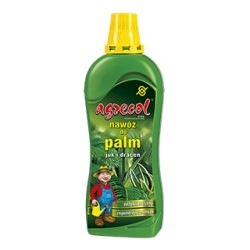 Nawóz do palm, juk i dracen 0,35l. Agrecol