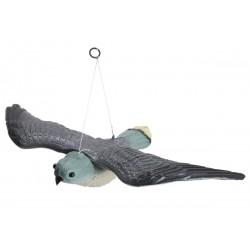 Figurka sokół w locie do odstraszania ptaków