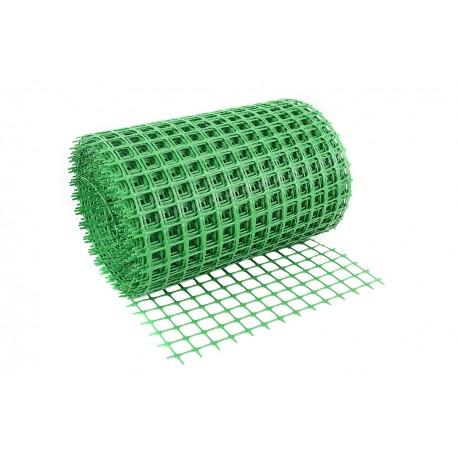 Siatka poliolefinowa 15*15 0,4m. zielona