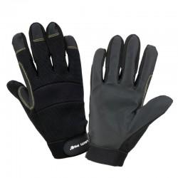 Rękawice warsztatowe czarne 8 Lahti