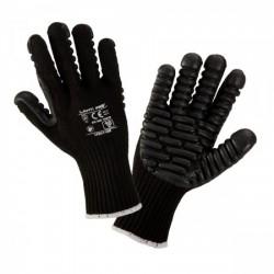 Rękawice antywibracyjne czarne rozmiar 10 Lahti