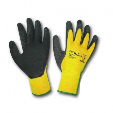 Rękawice ocieplane Drag Yellow rozmiar 10