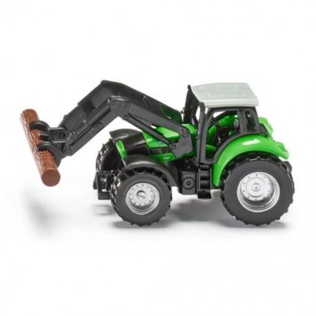 Zabawka traktor Deutz z ładowaczem /Siku/