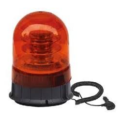 Lampa ostrzeg-kogut LED 12/24V magnes 170x140mm.
