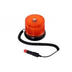 Lampa ostrzeg-kogut LED 12/24V magnes 160x125mm