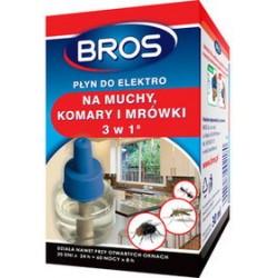 Płyn 3w1 na muchy, komary, mrówki Bros