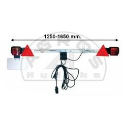Belka oświetleniowa 1250-1650 mm. regulowana