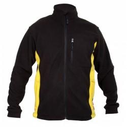 Bluza polarowa czarno-żółta Lahti WYPRZEDAŻ