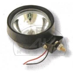 Lampa robocza halog.H-3 okrągła gumowa 130mm.