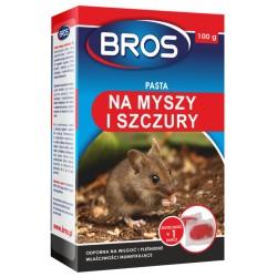 Pasta na myszy i szczury 100g. Bros