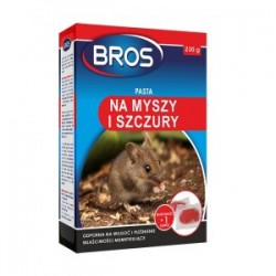 Pasta na myszy i szczury 230g. Bros