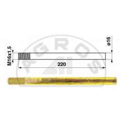 Palec ślimaka JD 16*220 z gwintem