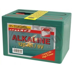 Bateria 9V 120Ah do elektroz.mała alkaiczna
