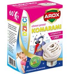 Elektrofumigator + płyn na komary dla dzieci Agrec