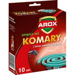 Spirale owadobójcze standard 10szt. Arox