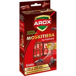 Moskitiera 130*150 biała + rzep Arox
