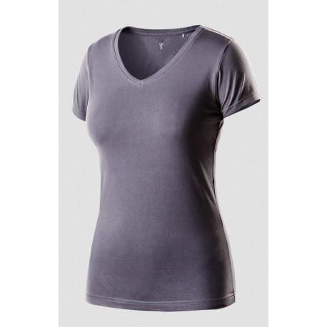 Koszulka t-shirt damska M ciemnoszara NEO