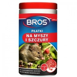 Płatki na myszy i szczury 250g. Bros