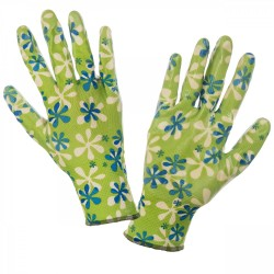 Rękawice nitrylowe zielone 7 Lahti