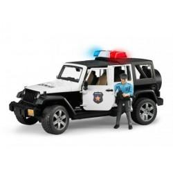 Zabawka Jeep Wrangler policja + figurka