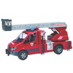 Zabawka straż pożarna Mercedes Sprinter