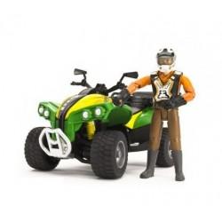 Zabawka quad z kierowcą