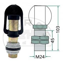 Uchwyt lampy błyskowej (mocowanie śrubowe)