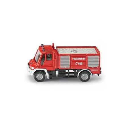 Zabawka wóz strażacki Unimog /Siku/