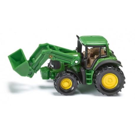 Zabawka traktor John Deere z ładowaczem /Siku/