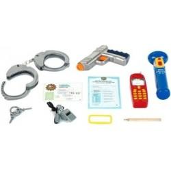 Zabawka zestaw policjanta 10-el /Klein/