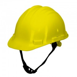 Kask ochronny przemysłowy żółty
