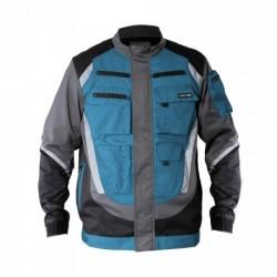 Bluza czarno-szaro-turk z pasi odbl XL Lahti Pro