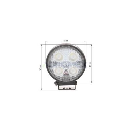 Lampa robocza LED 9-32V 20W 2800lm Cree