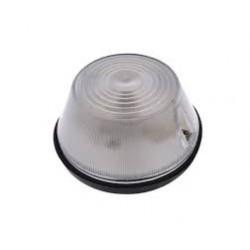 Lampa obrysowa niska biała