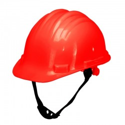 Kask ochronny przemysłowy czerwony