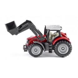 Zabawka traktor Massey Ferguson z ładowacz. /Siku/