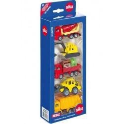Zabawka zestaw maszyn budowl. 5-el. /Siku/
