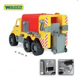 Zabawka City Truck śmieciarka /Wader/