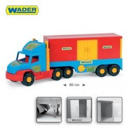 Zabawka Super Truck kontener /Wader/