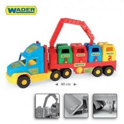 Zabawka Super Truck śmieciarka /Wader/