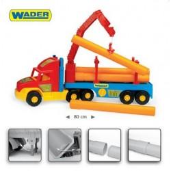 Zabawka Super Truck budowlany /Wader/
